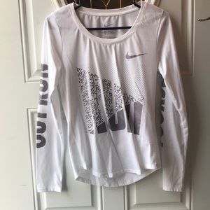 Nike running long sleeve